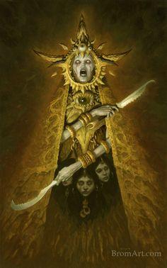image: Brom's Lost Gods