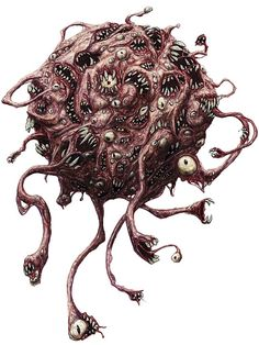 drawing of a beholder